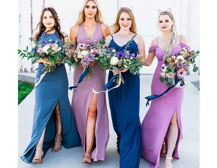 bridesmaid dresses ideas for causal wedding