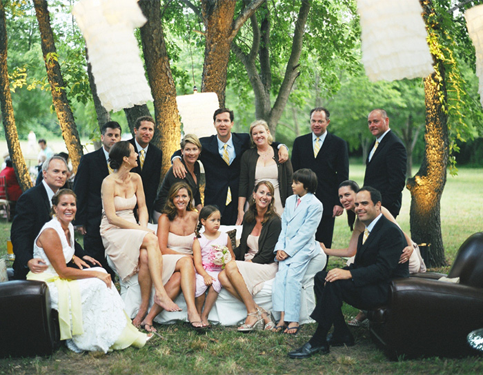 relaxd causal wedding party