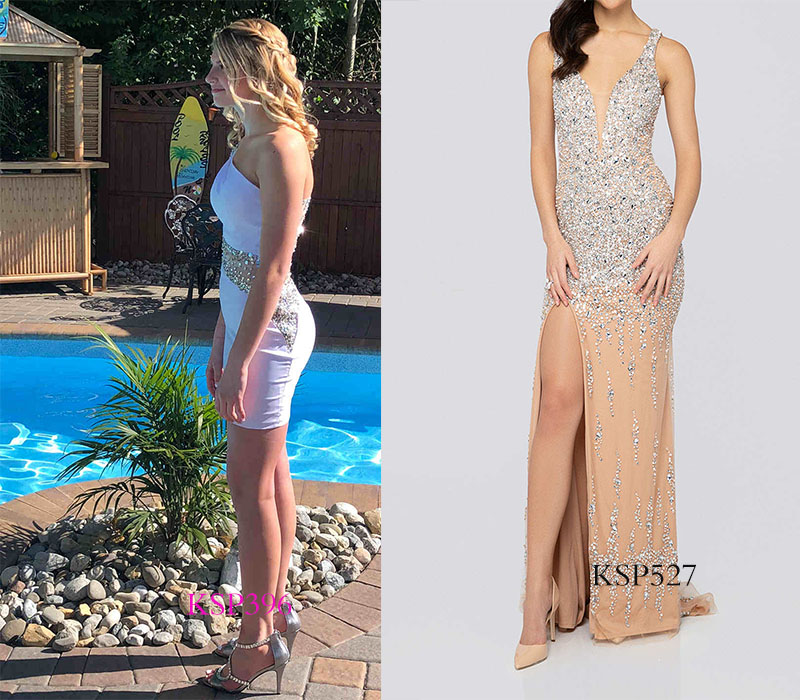fitted homecoming dresses