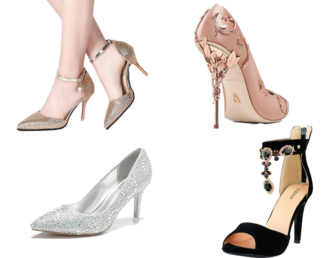 prom shoes for navy blue prom dresses