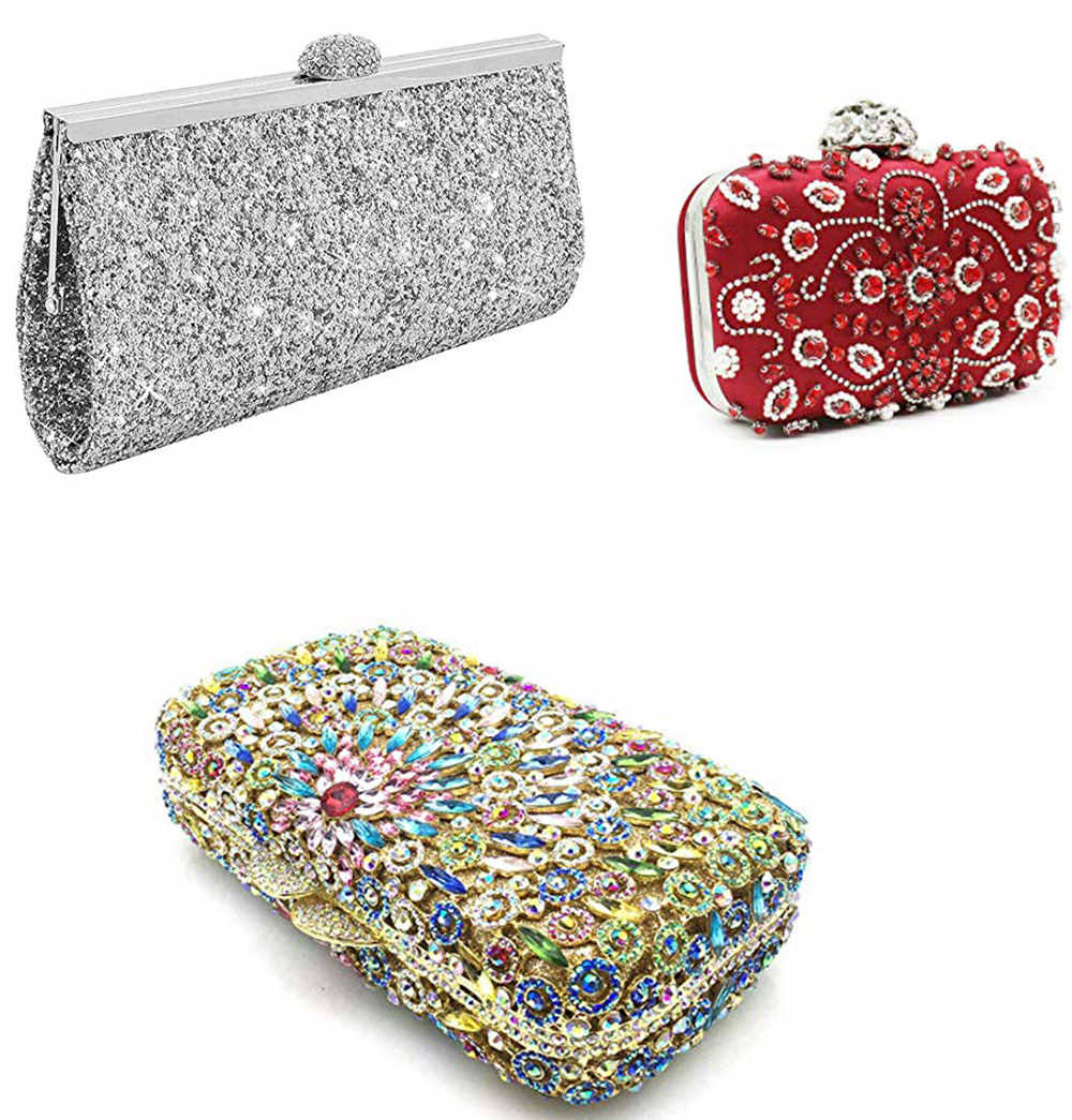 sparkly clutch for prom dresses