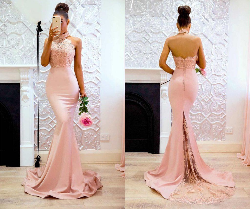 beautiful mermaid bridesmaid dresses