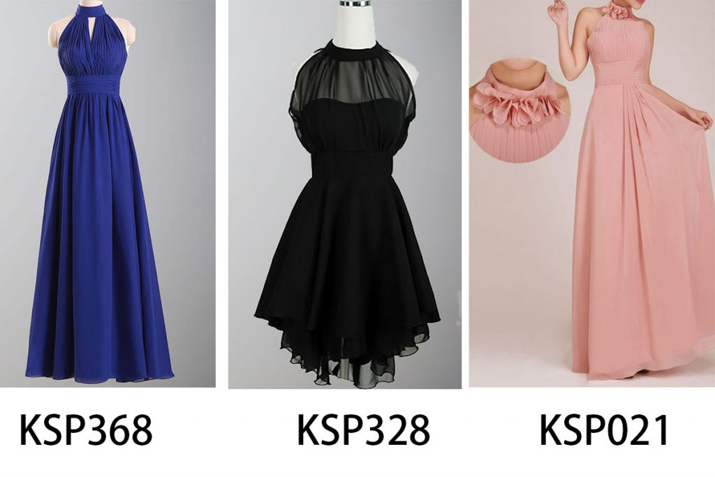 turtle neck bridesmaid dresses