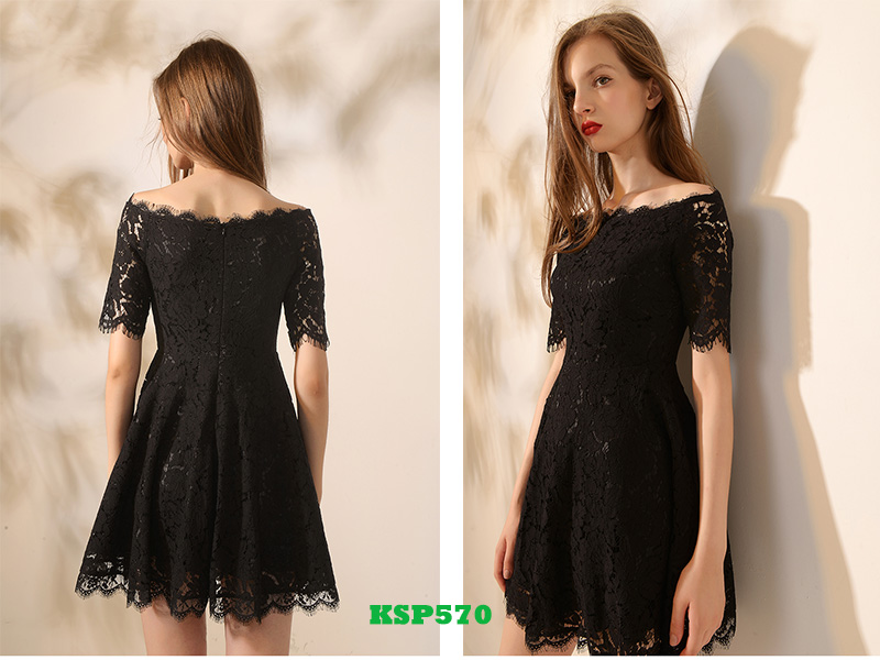 lace little black dresses KSP570