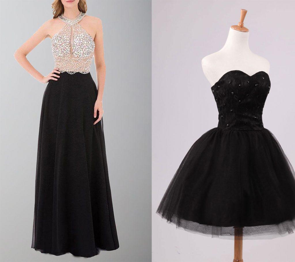Black Prom Dresses 2021