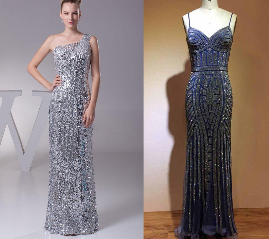 Glitter Prom Dresses 2021