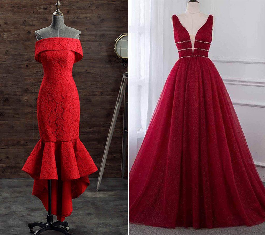 Red Prom Dresses 2021